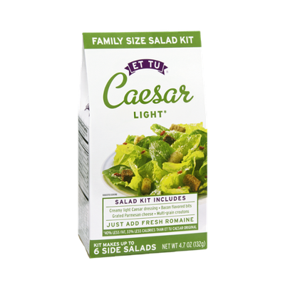Et Tu Caesar Light Family Size Salad Kit