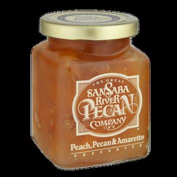 The Great San Saba River Pecan Company Peach, Pecan & Amaretto Preserves