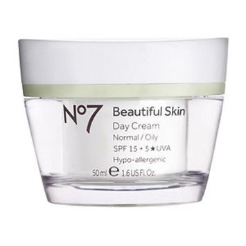 Boots No7 Beautiful Skin Day Cream, Normal / Oily, 1.6 fl oz
