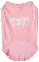 Ahi Party Animal Screen Print Shirt Light Pink Lg (14)
