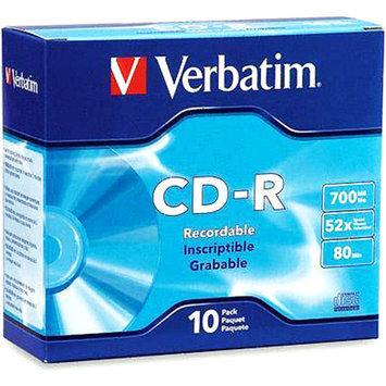 Verbatim 10PK CD-R 80 MIN 700MB 52X ( 94760 )