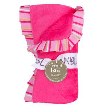 Test Trend Lab Savannah Ruffle Trimmed Receiving Blanket Kid's