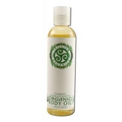 Trillium Organics: Ogbody Body Oil, Cedar Eucalyptus Clearing 4 oz