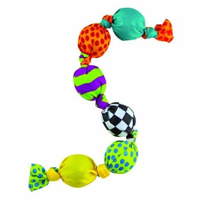 Petstages Stuffing Free Dog Ball Squeak Chain