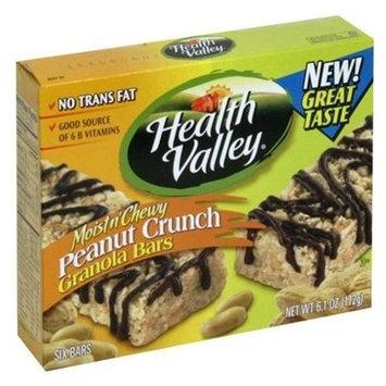 HEATH VALLEY NATURAL FOODS Organic Peanut Moist & Chewy Granola Bar 6.1 OZ
