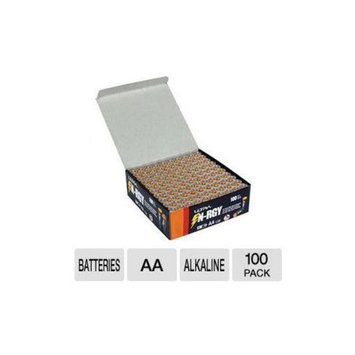 Ultra N-RGY AA Alkaline Batteries - 1.5v, 100 Pack - U12-42470