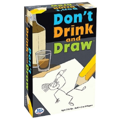 Tip O' The Cup Games Don't Drink and Draw Ages 21 and up