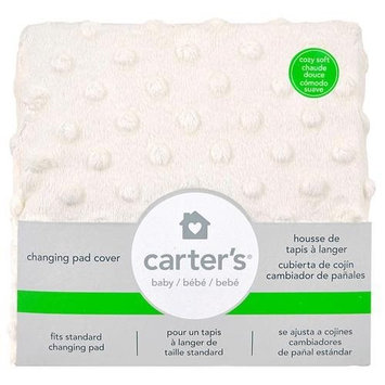 Triboro Quilt Mfg Co Carter's Solid Changing Pad Cover Ecru