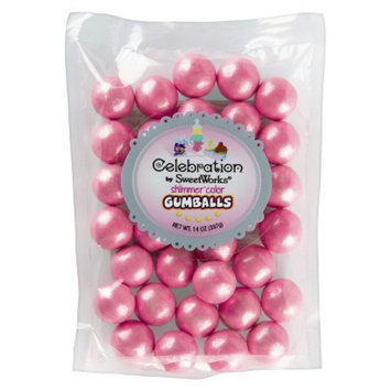 SweetWorks Sweetworks Gumballs Hot Pink 14 OZ