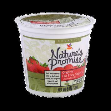 Nature's Promise Organics Organic Fat Free Strawberry Yogurt