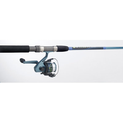6 Foot 6 Inch 2 Piece Medium Spin Rod ELNSPNAST by South Bend