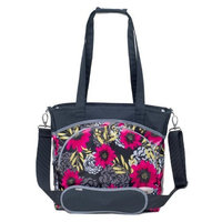 JJ Cole Mode Diaper Tote Bag, Midnight Dahlia (Discontinued by Manufacturer)