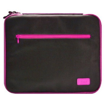 Iluv iLuv Roller Soft Padded Sleeve for iPad 3rd Generation - Black/Pink