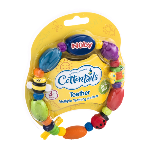 Cottontails Nuby Teether