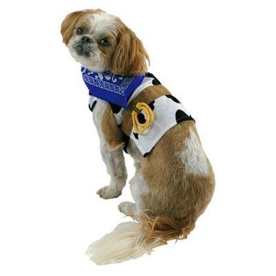 Boots & Barkley Boots and Barkley Cowboy Partial/Hoodie Pet Costume - XLarge