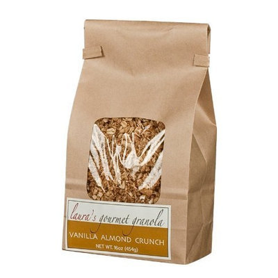Laura's Gourmet Granola Vanilla Almond Crunch, 16-Ounce Packages (Pack of 3)