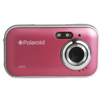 Polaroid 2.0MP Digital Camera - Pink (CAA-200PC)