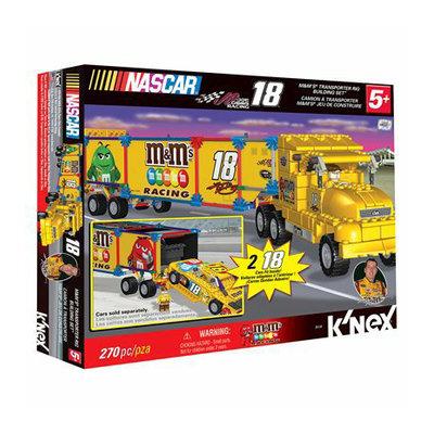 K'NEX Nascar 18 M&M'S Transporter Rig Building Set