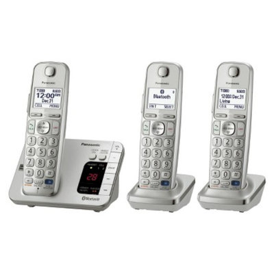 Panasonic DECT 6.0 Plus Cordless Phone System (KX-TGE263S) with