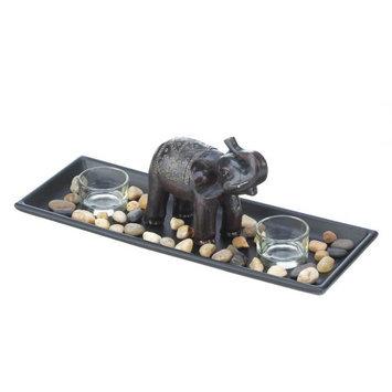 Koehlerhomedecor Elephant Zen Candle Set