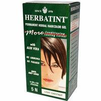 Herbatint Permanent Herbal Haircolour Gel 5N Light Chestnut 135 ml