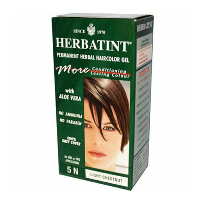 Herbatint Permanent Herbal Haircolour Gel 5N Light Chestnut 135 ml
