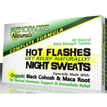 Menopause Natural ® Hot Flashes Remedies Hot Flashes Relief Menopause Supplements Black Cohosh - NEW ADVANCED FORMULA