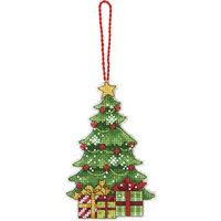 Dimensions Susan Winget Tree Ornament Counted Cross Stitch Kit 14 Count Plastic Canvas