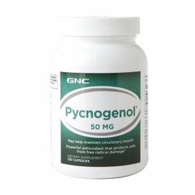 Gnc GNC Pycnogenol 50mg, Capsules, 120 ea