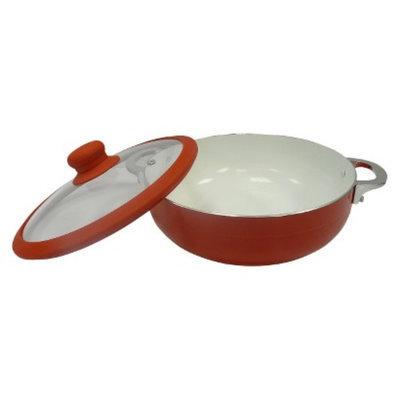 IMUSA Imusa 30 Centimeter Ceramic Caldero with Lid - Red