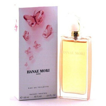 Hanae Mori Pink Butterfly for Women 3.4 Oz Eau de Toilette Spray
