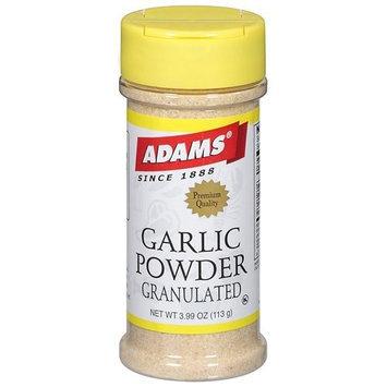 Adams Garlic Powder Spice, 3.99 oz