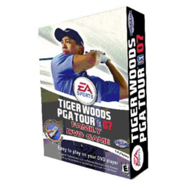 Tiger Woods DVD Game Ages 8+