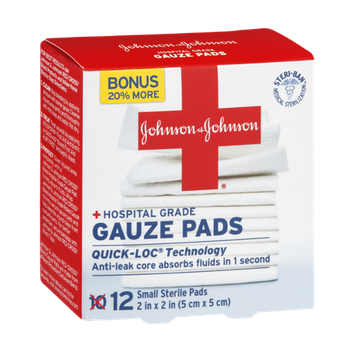 Johnson & Johnson Gauze Pads - 2 in x 2 in
