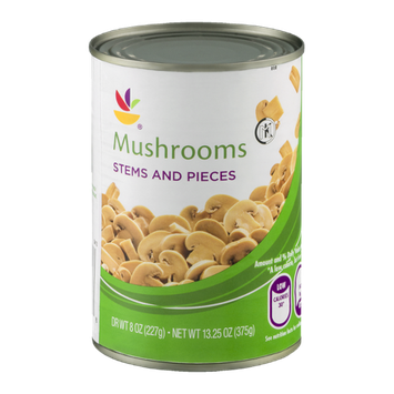 Ahold Mushrooms Stem And Pieces