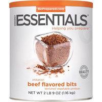 Emergency Essentials Food Imitation Beef Flavored Bits Textured Vegetable Protein, 41 oz