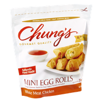 Chung's White Meat Chicken Mini Egg Rolls