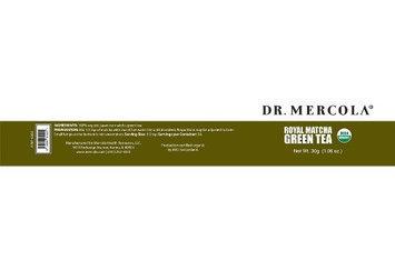 Dr. Mercola: Royal Matcha Green Tea, 1.06 oz