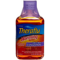 Theraflu Warming Relief Cold & Chest Congestion, Orange, 8.3-Ounce Bottles (Pack of 2)