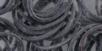 Midwest Design Imports Midwest Design LB506-50623 Loom Bands Value Pack 525-Pkg-Grey