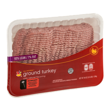 Ahold Ground Turkey 93% Lean