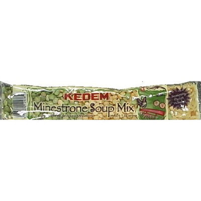 Kedem Soup Mix Cello Minestrone 6 oz. (Pack of 24)