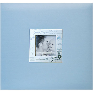 Notions Marketing Baby Expressions Postbound Album - Blue (8x8