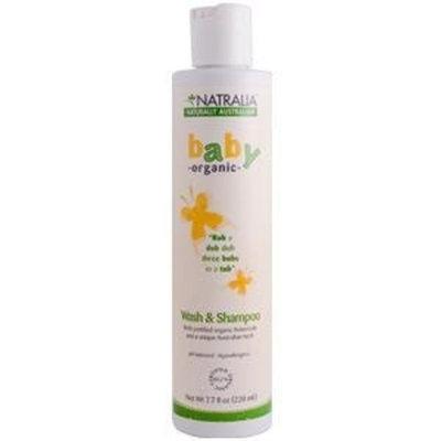 Natralia Baby Wash & Shampoo 7.7oz 7.70 Ounces