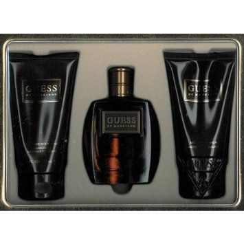 Guess? Guess Marciano Gift Set 3 Pieces (3.4 fl. oz. Eau De Toilette Spray + 5.0 oz. Body Wash + 5.0 oz. After Shave Balm) Men By Parlux