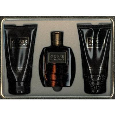 Guess? Guess Marciano Gift Set 3 Pieces (3.4 fl. oz. Eau De Toilette Spray + 5.0 oz. Body Wash + 5.0 oz. After Shave Balm) Men By Parlux