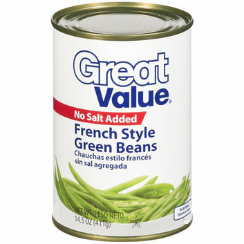 Great Value : French Style Green Beans