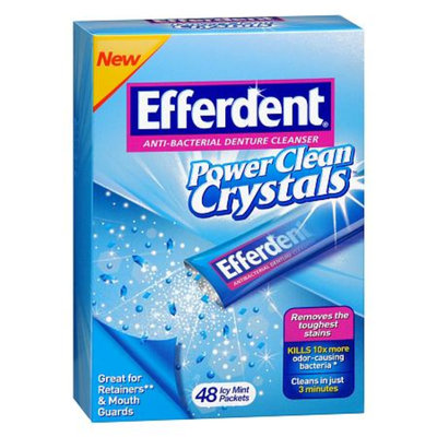 Efferdent Power Clean Crystals