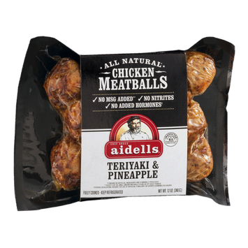 Aidells Chicken Meatballs Teriyaki & Pineapple