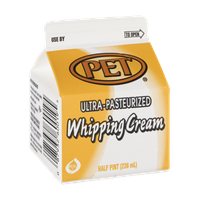 PET Ultra-Pasteurized Whipping Cream